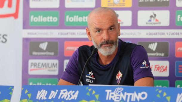 Stefano Pioli en rueda de prensa | Foto: fiorentina.it