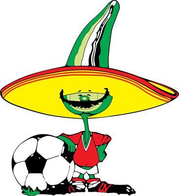 Pique, mascota oficial de México 1986