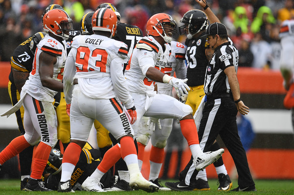 The Browns defense kept them in the game all day | Source: Jason Miller-Getty Images North America
