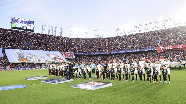 En el Sevilla hay ganas de volver a ver al Pizjuán en Champions. Foto: sevillafc.es