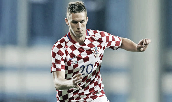 Pjaca em atuação pela seleção da Croácia (Foto: Getty Images)