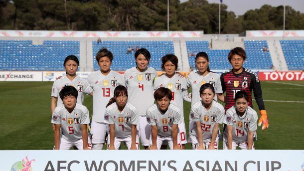Formación del seleccionado de Japón en la Copa Femenina - Jordania 2018 | Fuente: FIFA