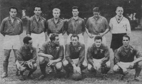 Plantilla del Olympique de Lyon 1951/1952 | Foto: OL
