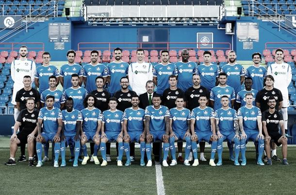 Plantilla del Getafe CF en la temporada 2019-2020. Fuente: Getafe CF.