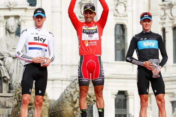 El podio de La Vuelta 2011 | Fuente: Graham Watson