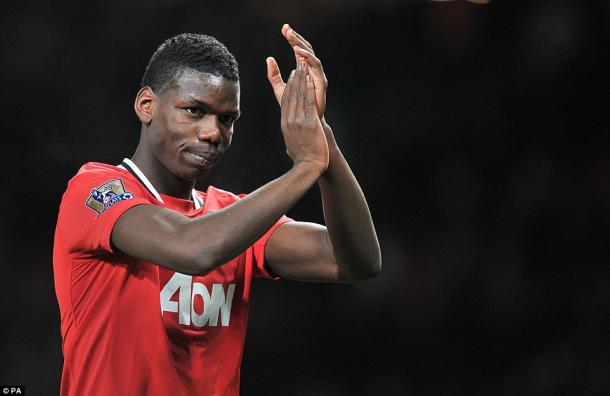 Pogba left United only in 2012 due to lack of first team football | Photo: AP