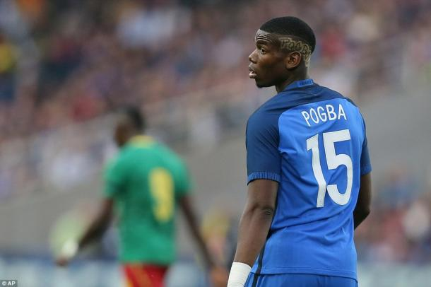 Pogba with France at Euro 2016 | Photo: AP
