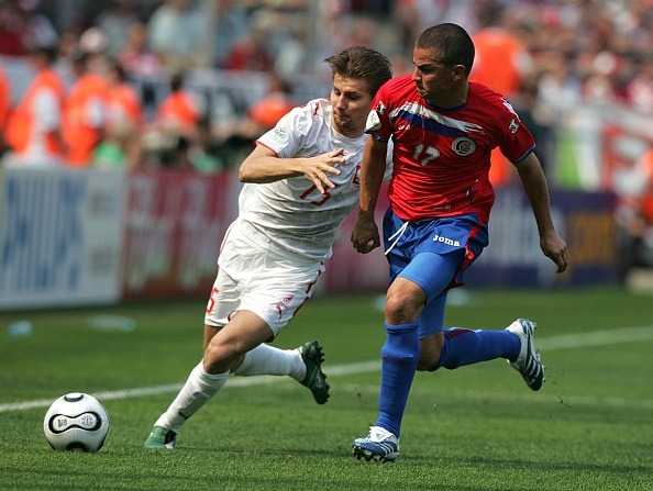 Polônia não joga Copa desde 2006: na Alemanha, foi eliminada na primeira fase e só venceu a Costa Rica (Foto:
