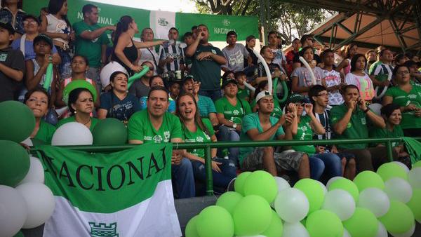 Hinchada del Atlético Nacional hoy. Foto: Atlético Nacional