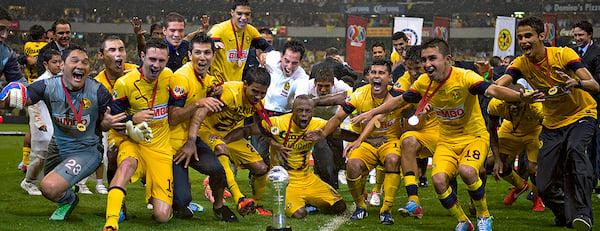 Campeones en 2013 vs. Cruz Azul | Foto: Club América - Sitio Oficial