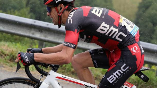 It was another incident fuelled day for Porte as he lost time to his podium challengers / Eurosport