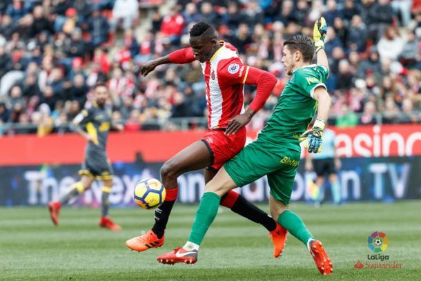 Lizoaín concedió un gol por tratar de salir jugando | Fotografía: La Liga