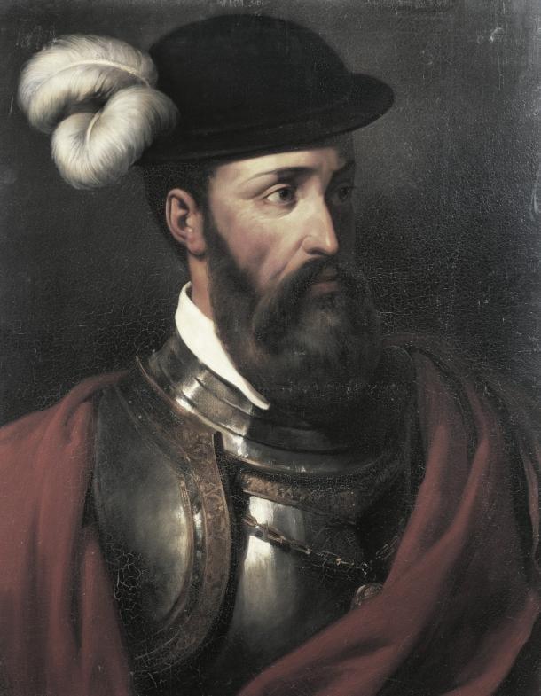 Francisco Pizarro. Fuente: Wikicomons