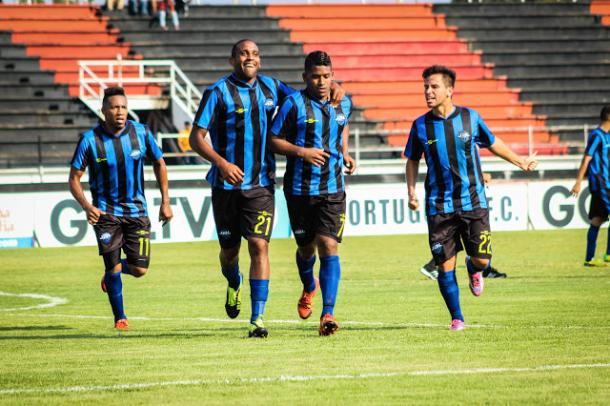 Postal del Portuguesa FC - Deportivo JBL / FOTO: Deportivo JBL Zulia