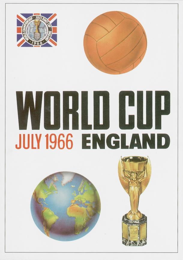 Poster Oficial de la Copa del Mundo de Fútbol, Inglaterra 1966