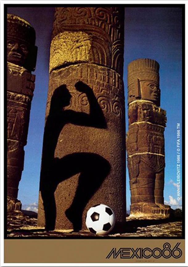 Poster Oficial de México 1986