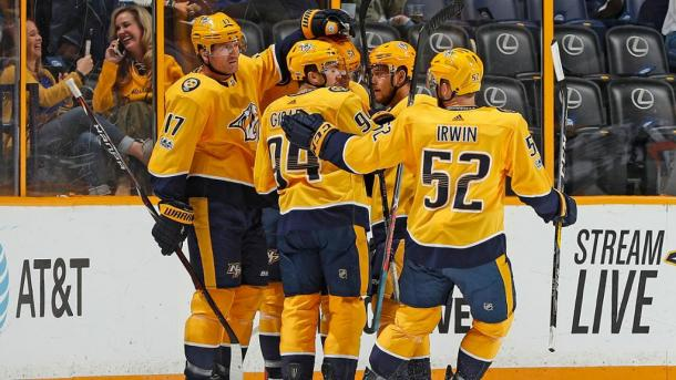 The Nashville Predators may have had a slow start, but they are going at full speed now. (Photo: nhl.com)