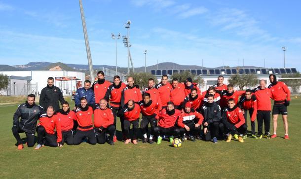 El primer equipo del CF Reus y del CF Reus Genuine compartieron entrenamiento por un día | CF Reus