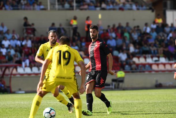 Juan Domínguez fue uno de los mejores ante el Osasuna | Foto: CF Reus