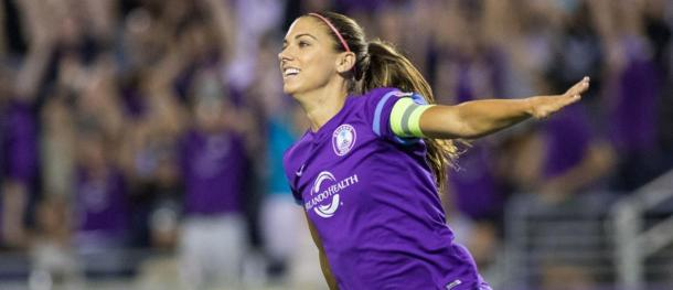 Alex Morgan is back to her very best this year   Source: orlandocitysc.com