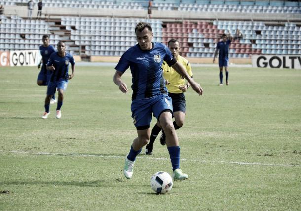 Juan Arango hizo su debut con el Zulia FC / Foto: Prensa Zulia FC