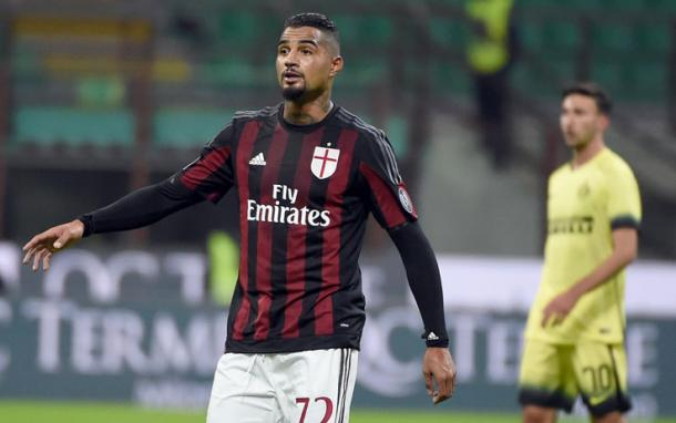 Kevin Prince Boateng in amichevole contro l'Inter, sport.sky.it