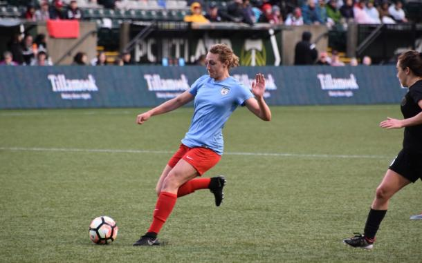 Morgan Proffitt impressed in preseason to earn a roster spot. Source: Chicago Red Stars