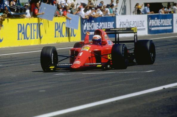 Alain Prost venceu o último GP de Paul Ricard, em 1990 (Foto: Pascal Rondeau/Getty Images)