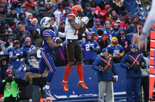 Terrelle Pryor was one of the few bright spots for the Cleveland Browns | Source: Tom Szczerbowski - Getty Images