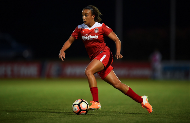 After leaving UCLA, Mallory Pugh landed with the Spirit, where she scored six goals in 16 games to earn MVP honors. | Photo: Brad Smith/ISI Photos