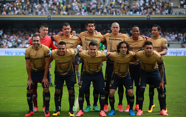 Pumas team photo before their match against Pachuca / Hector Vivas - LatinContent/Getty Images