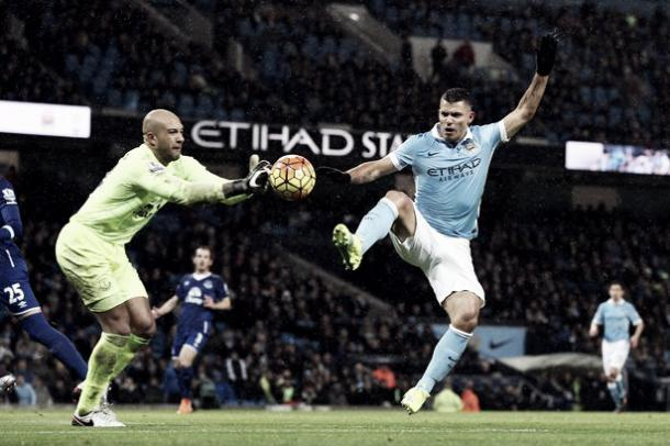 Howard impressed as Everton earned a hard-fought point at Manchester City in January. | Photo: Liverpool Echo