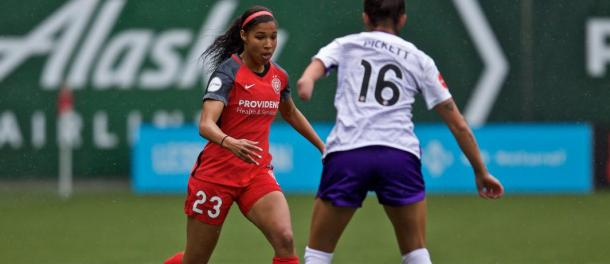 Purce beat Pickett almost everytime last game | Photo: Portland Thorns