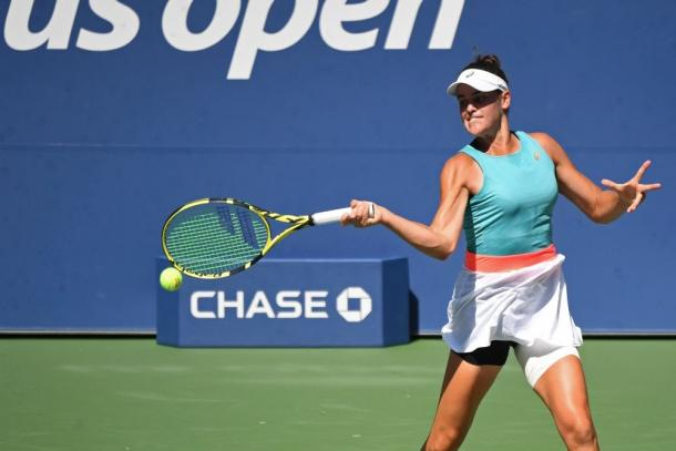 Brandy's forehand will be one of the key shots in the match/Photo: Reuters