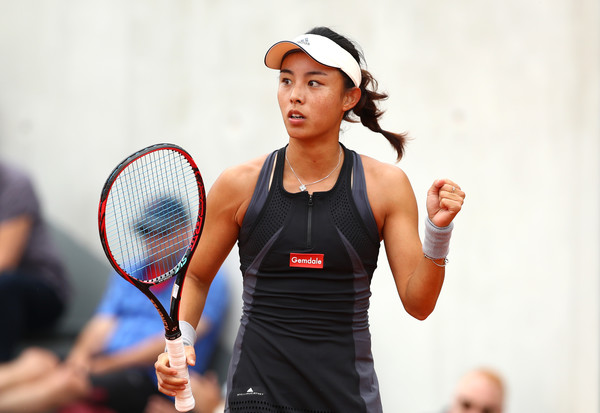 Wang Qiang claimed her first top-10 win in Paris this year over Venus Williams | Photo: Cameron Spencer/Getty Images Europe