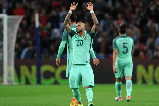 Ruled out? Quaresma could miss out on Portugal's opener through injury.