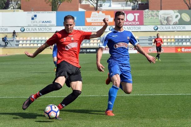 David Querol y el Reus disputaron un amistoso ante el filial. (Foto: CF Reus)