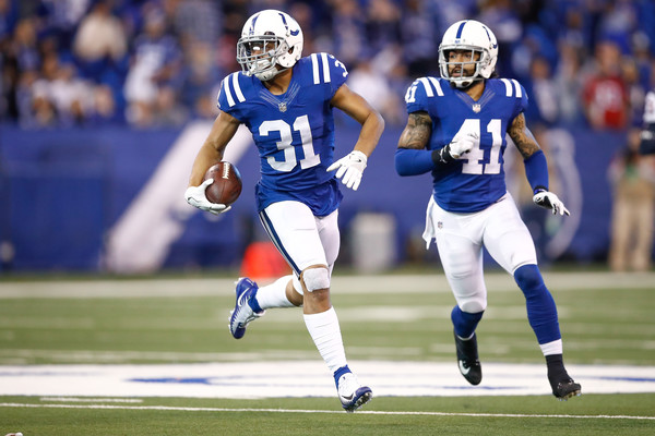 Quincy Wilson #31 of the Indianapolis Colts |