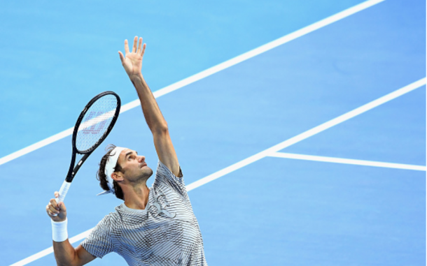 Federer is the overwhelming favorite on Monday night in Melbourne. Credit: Quinn Rooney/Getty Images