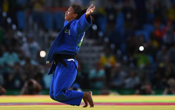 Rafaela Silva é ouro para o Brasil no Judô. (Foto: Getty Images/David Ramos).