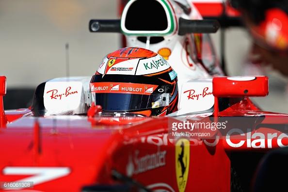 Kimi Raikkonen struggled. | Photo: Getty Images/Mark Thompson