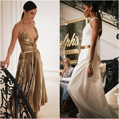Vestidos de Ralph Lauren | Foto: Instagram Ralph Lauren