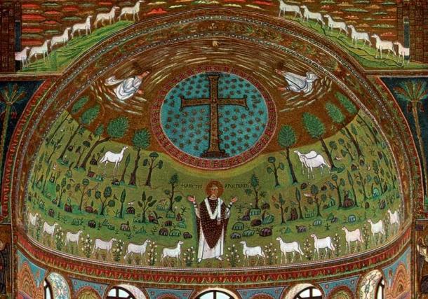 Mosaicos de San Apolinar in Classe | Foto: Pinterest