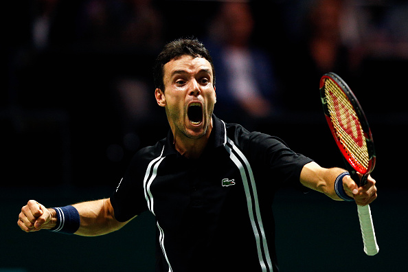 Bautista Agut clearly enjoyed yet another victory (Photo: Getty Images - Dean Mouhtaropoulos)