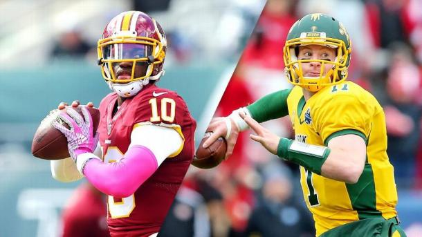 Cleveland ultimately chose RG3 over Carson Wentz. So why would Cleveland stay at the number 2 spot?