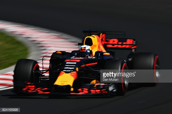 Ricciardo was fastest in FP1 and FP2 yesterday, but an electrical problem forced an early exit for the Australian in FP3. (Image Credit: Dan Mullan/Getty Images)