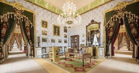 Salón del Palacio de Riofrío | Pinterest