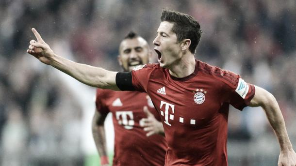 Can Lewandowski help lead Bayern to glory against his old club? | Image source: Sky Sports
