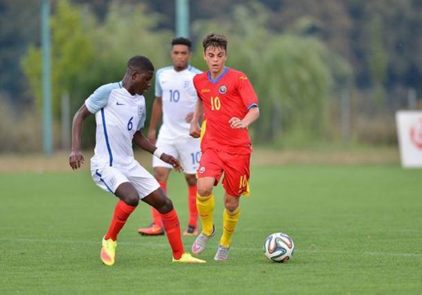 Vlad Mitrea con la Romania U16 | FC INTER 1908