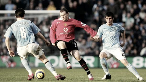 Derbi de Mánchester de 2006 acabó en 3-1 para el City. Foto: Manchester City